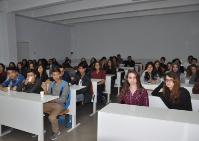 The research trip in Turkish school.