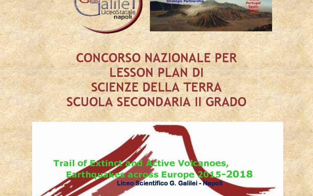 Italian school has announced  teacher' competition for the best lesson plan.