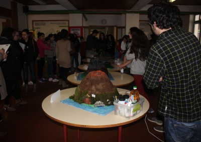 The volcano model competition at Portuguese school
