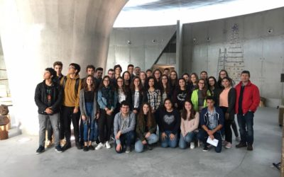 Portuguese students visited the last active volcano in Azores: Capelinhos
