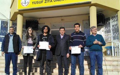 Results of competition for students at Turkish school.