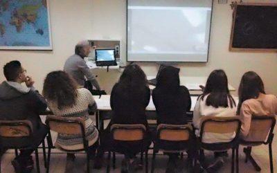 Videoconference: Liceo Scientifico Galilei with Prywatne Salezjanskie Liceum Ogolnoksztalcace