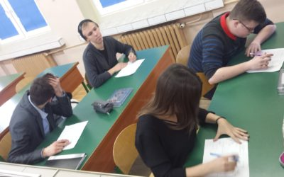Competition about volcanology at Polish school