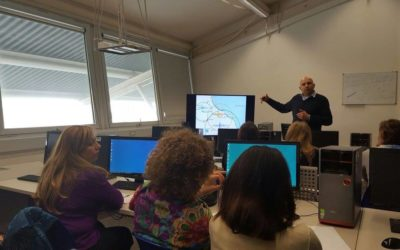 Teacher training about educational seismograph at Italian school