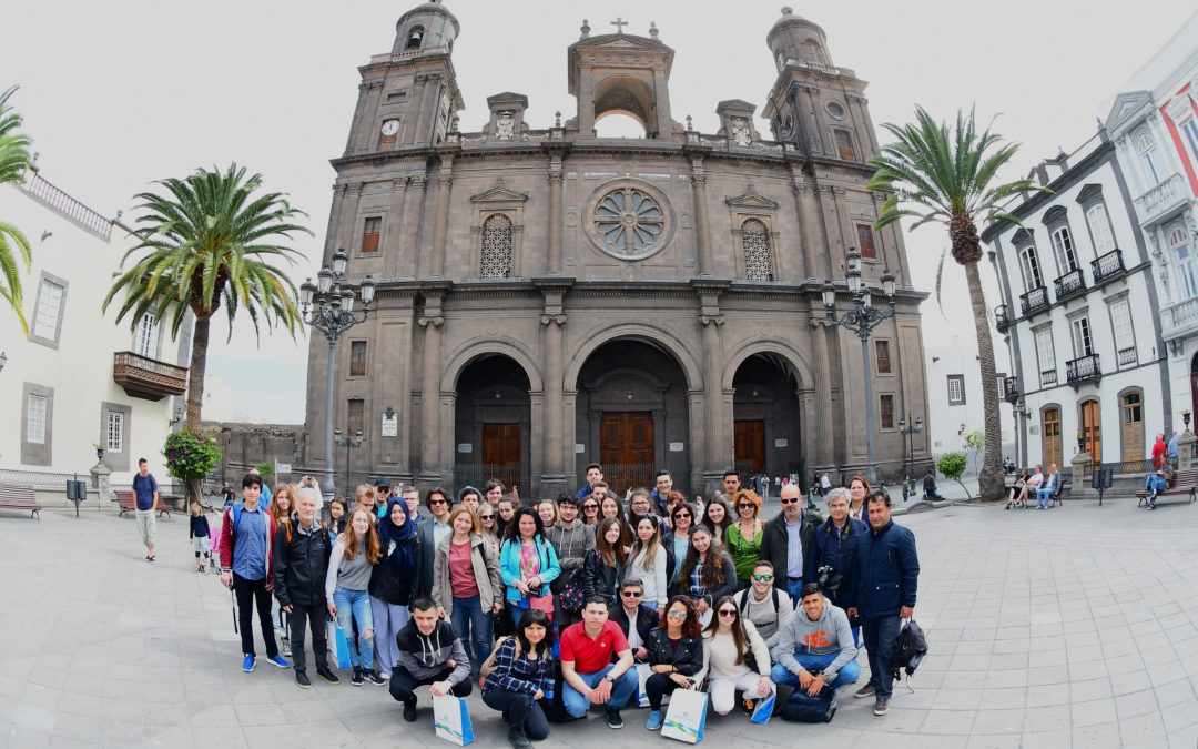 The student short training in Canary Islands 13-17.03.2017