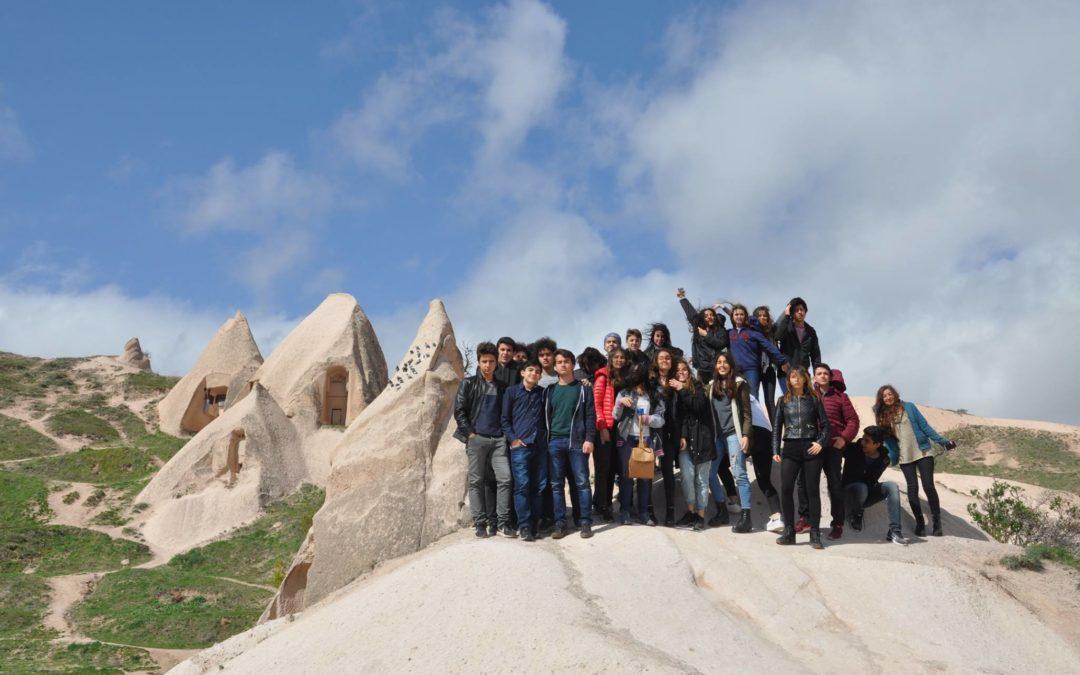 Trip of Turkish school to Cappadoccia