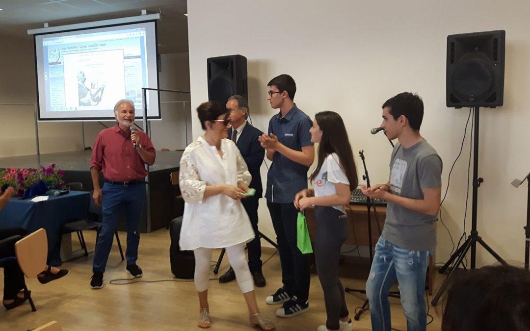 """Francesca Guidotti – the winner """"Tra due fuochi"""" Erasmus+ Contest."""