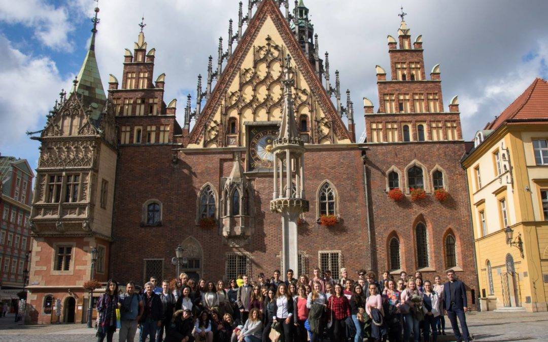 The meeting in Wroclaw, Poland 25-29.09.2017