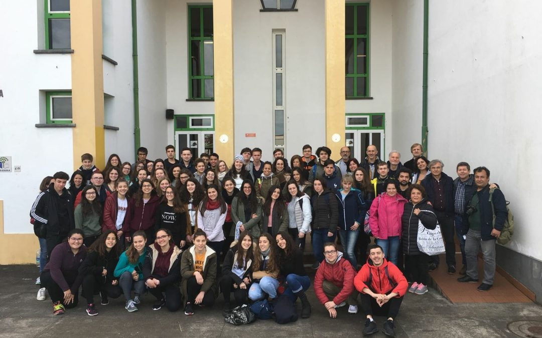 Short term training for students in Madalena – Azores – 26.02-02.03